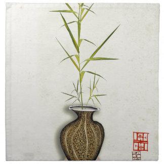 ikebana 19 by tony fernandes napkin