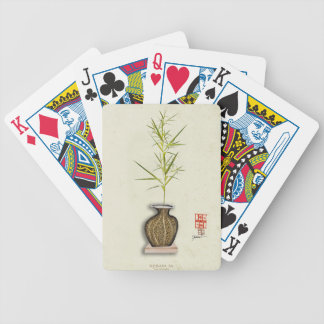 ikebana 20 by tony fernandes bicycle playing cards