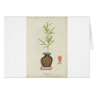 ikebana 20 by tony fernandes card