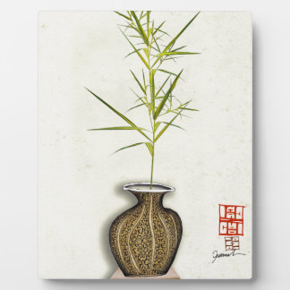 ikebana 20 by tony fernandes plaque