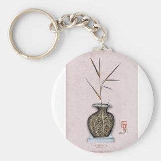 Ikebana 3 by tony fernandes keychain