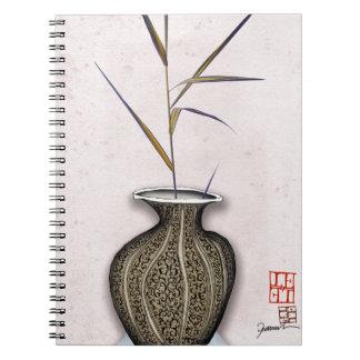 Ikebana 3 by tony fernandes notebook
