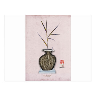 Ikebana 3 by tony fernandes postcard