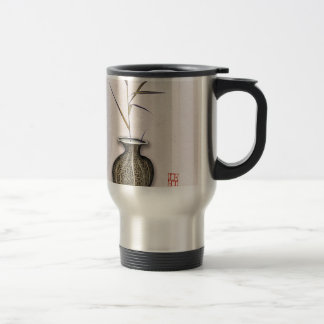 Ikebana 3 by tony fernandes travel mug