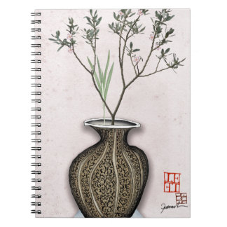 Ikebana 4 by tony fernandes notebook