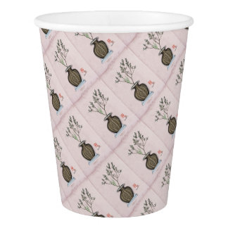 Ikebana 4 by tony fernandes paper cup