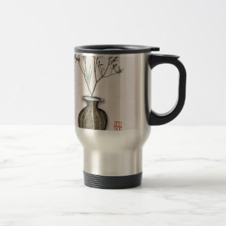 Ikebana 4 by tony fernandes travel mug