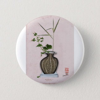 Ikebana 5 by tony fernandes 2 inch round button