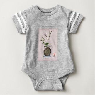 Ikebana 5 by tony fernandes baby bodysuit