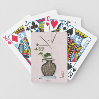 Ikebana 5 by tony fernandes bicycle playing cards