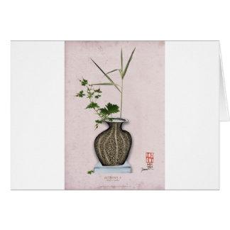 Ikebana 5 by tony fernandes card