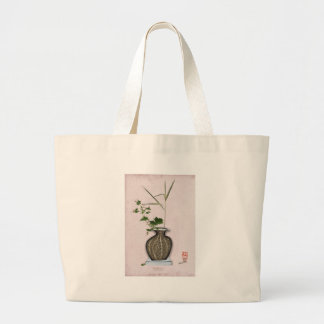 Ikebana 5 by tony fernandes large tote bag