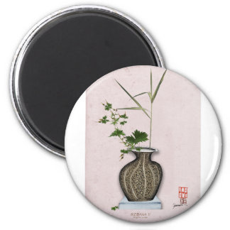 Ikebana 5 by tony fernandes magnet