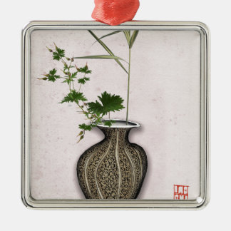 Ikebana 5 by tony fernandes metal ornament