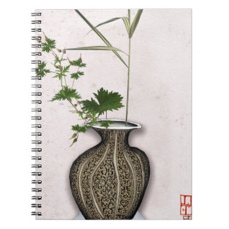 Ikebana 5 by tony fernandes notebook
