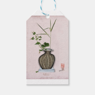 Ikebana 5 by tony fernandes pack of gift tags