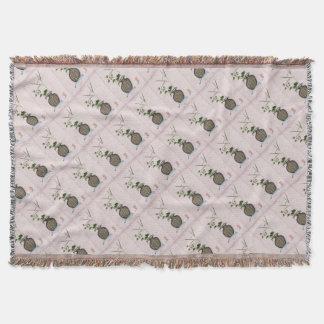 Ikebana 5 by tony fernandes throw blanket