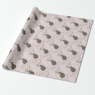 Ikebana 5 by tony fernandes wrapping paper