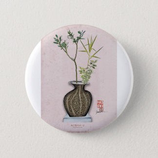 Ikebana 6 by tony fernandes 2 inch round button