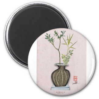 Ikebana 6 by tony fernandes magnet