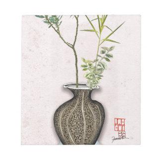 Ikebana 6 by tony fernandes notepad