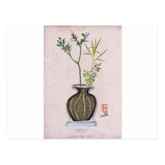 Ikebana 6 by tony fernandes postcard