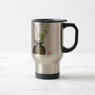 Ikebana 6 by tony fernandes travel mug