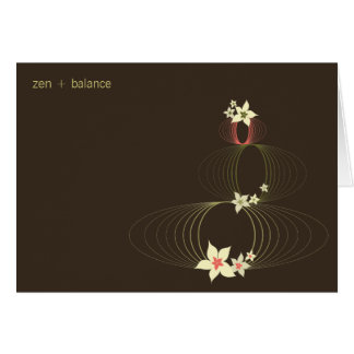 Ikebana Blooms | *01 | Blank Note Card
