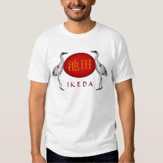 Ikeda Monogram Crane Tee Shirts