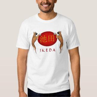 Ikeda Monogram Dog Tee Shirts
