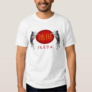 Ikeda Monogram Dog Tees
