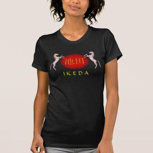 Ikeda Monogram Horse Tshirts