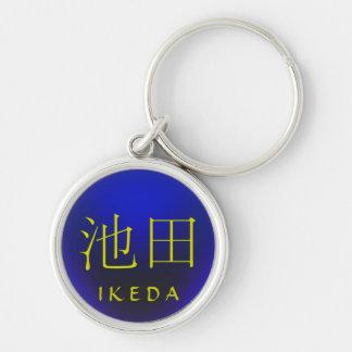 Ikeda Monogram Keychain
