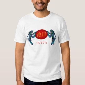 Ikeda Monogram Kirin Shirts