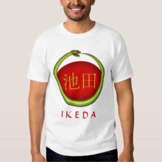 Ikeda Monogram Snake Tee Shirt