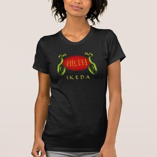 Ikeda Monogram Snake Tee Shirts