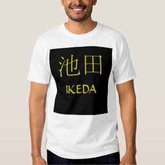 Ikeda Monogram Tee Shirt