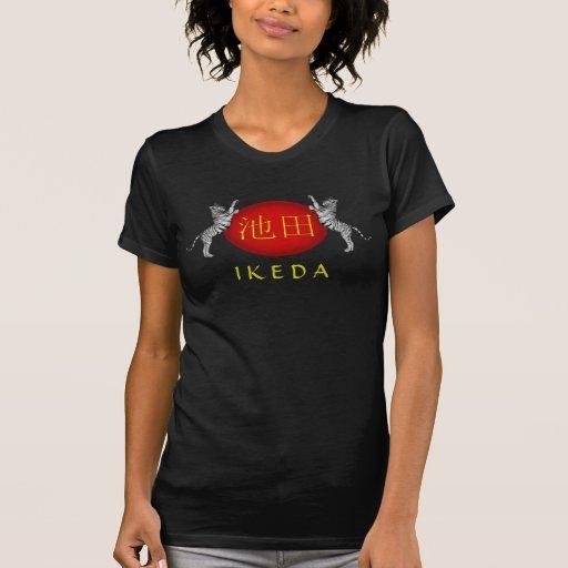 Ikeda Monogram Tiger Tee Shirt