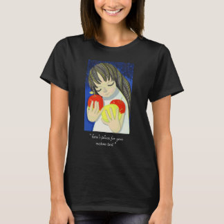 Ikeda Shuzo Apple Song cute little kawaii girl art T-Shirt