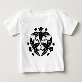Ikeda three autumn bellflower baby T-Shirt