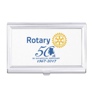 Iki rotary 50th anniversary commemoration business card cases