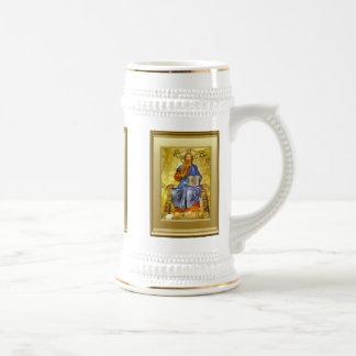 Ikon of St Peter 18 Oz Beer Stein
