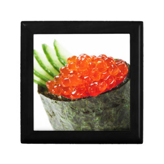 Ikura (Salmon Roe) Gunkan Maki Sushi Jewelry Box