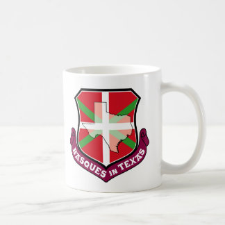 Ikurrina shield: Basques in Texas, Coffee Mug