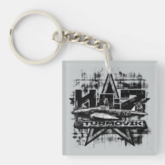 Il-2 Double-Sided Square Acrylic Keychain