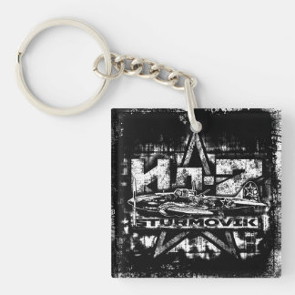 Il-2 Square (double-sided) Keychain