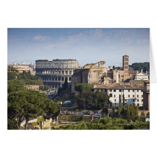 il Colosseum ou Colisé romain, à l'origine Cartes De Vœux