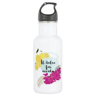 Il dolce far niente 532 ml water bottle