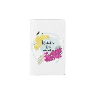 Il dolce far niente pocket moleskine notebook