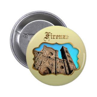 Il Duomo di Firenze 2 Inch Round Button